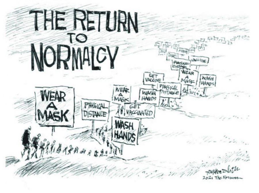 OP ED: A Slow Return to Normalcy